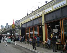 Melrose Market Is Housed in a Former Block of Automotive Repair Shops