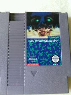Raid On Bungeling Bay 1985 Vintage Nintendo NES Game