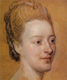 Isabelle de Charriere, 1766 - Maurice Quentin de La Tour - WikiPaintings.org