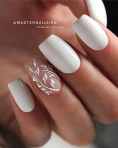 This series deals with many common and very painful conditions, which can spoil the appearance of your nails. But for you, nail technicians, this is not a problem! SPLIT NAILS What is it about ? Nails are composed of several… Continue Reading → Bridal Nails Designs, Wedding Nails Design, Bride Nails, Wedding Nails For Bride, Wedding Nails Art, Weding Nails, Simple Wedding Nails, Bridal Nail Art, Wedding Shoes