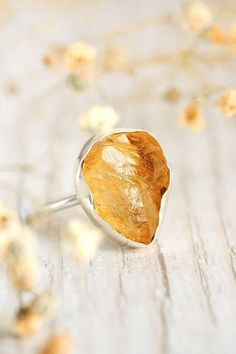 Raw Stone Citrine Ring statement rings Women, Sterling Silver Ring, wanderlust bohemian jewelry, full finger ring, Adjustable ring, large long ring, boho rings, unique silver rings, simple ring, handmade rings, southwest jewelry, southwest boho fashion, western jewelry, amazing rings, boho jewelry, accessories rings, Handcrafted Jewelry #bohomagic #bohojewelry #bohofashion #silverrings #silverringsjewelry Western Jewelry, Boho Jewelry, Jewelry Accessories, Jewelry Rings, Silver Jewelry, Bold Rings, Rings Cool, Unique Silver Rings, Sterling Silver Rings