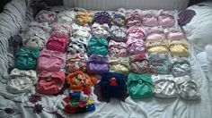 Charlotte Dawson #mynappystash This is most of my stash for my daughter.