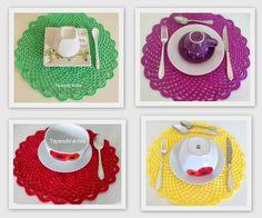 tovagliette segnaposto per un coloratissimo thè con le amiche
