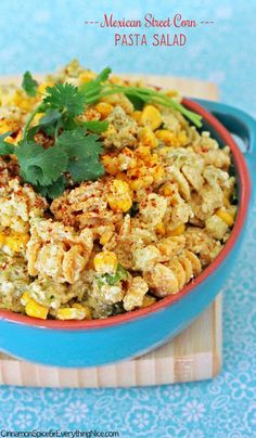 Home on the Range Exchange: Pinterest Test: Mexican Street Corn Pasta Salad