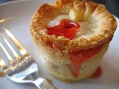 Love the idea of individual pies!