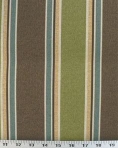Echo Stripe Truffle - Indoor/Outdoor | Online Discount Drapery Fabrics and Upholstery Fabric Superstore!