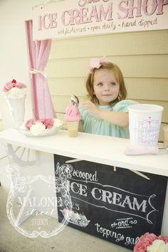 Malone Street Studios | live like you're lucky – DIY Homemade Ice Cream Stand