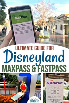 MaxPass Secrets and Best Disneyland FASTPASS Tips Disneyland secrets and tips for using fastpass and maxpass for rides on vacation.Disneyland secrets and tips for using fastpass and maxpass for rides on vacation. Disneyland Secrets, Disneyland Vacation, Disneyland California, Disney Vacations, Disneyland Christmas, California Travel, Southern California, Disneyland Hacks, Disneyland 2015