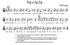 Beth's Music Notes: Rig-a-Jig-Jig