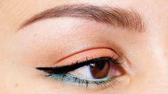 Coral Mint Eyelook feat. Sleek del Mar palette - beautylab