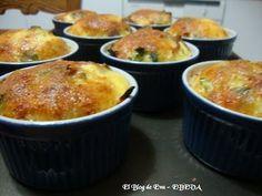 Clafoutis de jamon y brocoli, Receta Petitchef Quiche, Bon Appetit, Muffin, Breakfast, Food, Vegetarian, Recipes, Salads, Dishes