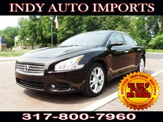 #SpecialOffer #FreeGas | $13,995 | 2012 #NissanMaxima REBUILT TITLE - for Sale in Carmel IN 46032 #IndyAutoImports