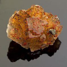 Fluorite - Bergmännisch Glück Mine, Frohnau, Erzgebirge, Saxony, Germany Size: 3.4 × 4.2 × 1.8 cm