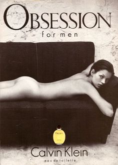 1994 Calvin Klein Obsession Perfume Kate Moss Print Advertisement Ad VTG 90s   eBay