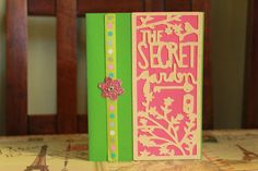 The Secret Garden handmade greeting card by AnLieDesigns on Etsy, $2.00