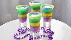 5. Shots para Mardi Gras