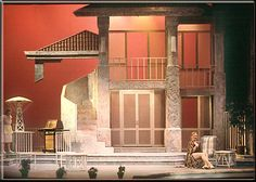 Tartuffe by Moliere - Set Design by Richard Finkelstein, Stage Designer Set Design Theatre, Stage Design, Royal Ballet, Dark Fantasy Art, Alvin Ailey, Desgin, August Strindberg, Body Painting, Fiddler On The Roof