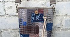 Japanese Boro Denim Tote Bag. Sewing: Quilting and Patchwork. DIY step-by-step tutorial with pictures.