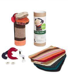 Cate & Levi Monkey Diy Puppet Kit