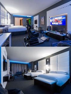 Hilton Panama's Alienware Room is a pure gaming den for an exhilarating gaming experience with all the elements fine-tuned for a crazy gamer's liking. #gamingroom #gamer #gamingden #alienwareroom #alienware