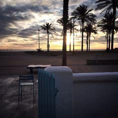 Vistas de la Playa de la Patacona desde La Más Bonita.