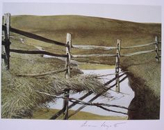 Andrew Wyeth : Run Off