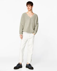 Image 1 of KNIT SWEATER from Zara