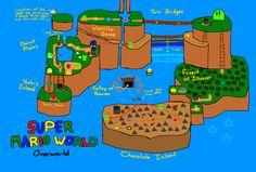 Mapstalgia / Maps of Videogames redrawn from memory / via enf