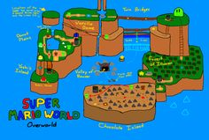 Mapstalgia / Maps of Videogames redrawn from memory / via enf
