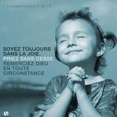 Soyez toujours dans la joie