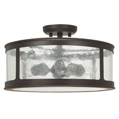 You'll love the Dylan 3 Light Semi-Flush Mount at Wayfair - Great Deals on all Lighting  products with Free Shipping on most stuff, even the big stuff.