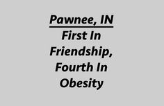 """Pawnee Indiana - """"First In Friendship, Fourth In Obesity""""Studio Pouch by meowdeer123"""