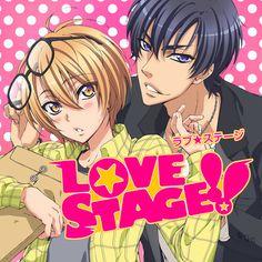 i love this anime it's a yaoi anime (BoyxBoy love) Love Stage Anime, Anime Love, Manga Love, Manhwa, Noragami, Izumi Sena, Manga Anime, 2014 Anime, Character Designer