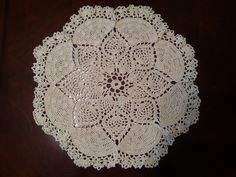 Dove Doily Part 5