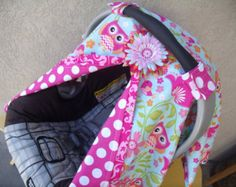 Carseat Canopy Owl Princess Carseat Cover by fashionfairytales