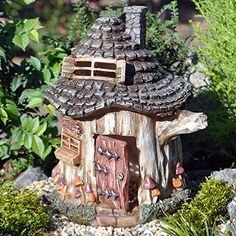 Miniature Fairy Garden Gnomes Nook -- More info could be found at the image url.