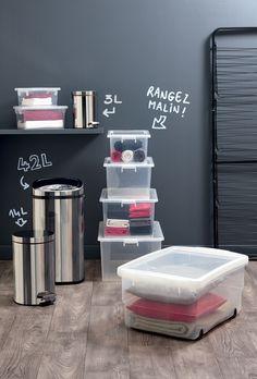 Boîtes de rangement plastiques Centrakor à prix doux Deco Jungle, Container, Decoration, Storage, Box, Decor, Purse Storage, Snare Drum, Larger