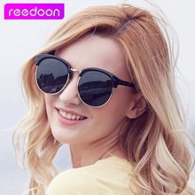 b2d7092098 REEDOON Classic Half Metal Polarized Sunglasses Men Women Brand Designer  Glasses Mirror Sun Glasses Fashion Gafas Oculos De Sol   Price   US  10.79    FREE ...