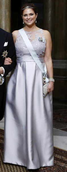 Members of the Swedish Royal Family hosted a gala dinner at the Royal Palace in Stockholm. 2/11/2015 #princessmadeleinepregnant #princessmadeleinepregnantnicolas