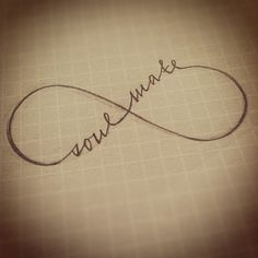 Soul Mate Symbol | tattoo # soulmate # calligraphy # jillyinktattoos