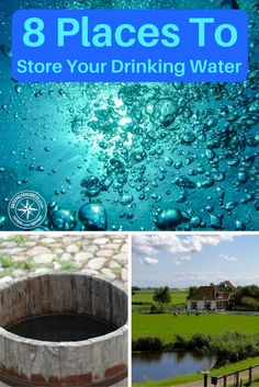8 Places You Can Store Your Drinking Water — Of all the survival supplies you can stockpile, water is arguably the most important. Without it, you'd only last a few days before dying of thirst. Unfortunately, water takes up a lot of space. Survival Essentials, Survival Supplies, Survival Prepping, Emergency Preparedness, Survival Skills, Survival Hacks, Safe Drinking Water, Emergency Preparation