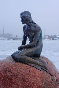 Little Mermaid, Copenhagen, Denmark - I am so excited to see this! Little mermaid was my favourite as a little girl.