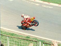 FOTO RANDY MAMOLA SU CAGIVA C588 GP NAZIONI IMOLA 1988 | eBay