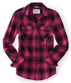 Long Sleeve Alex Plaid Woven Shirt