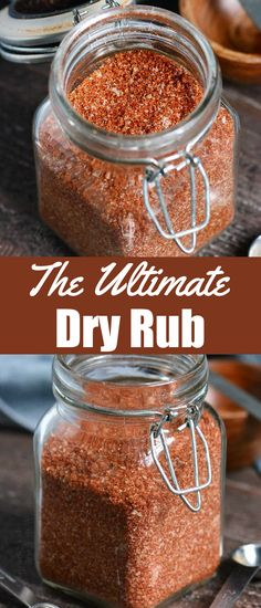 This is the only Dry Rub recipe you will ever need. It's a great Dry Rub for ribs, for chicken, brisket, chicken wings, and more. Use this dry rub on any meat that you're grilling, smoking, or cooking in the oven. It's quick, versatile, tastes amazing, and made with simple ingredients. #dryrub #spices #rubs #easy