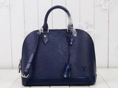M40302 Navy (ALMA PM 32CM) - WWW.FASHIONBAGCD.COM---Designer handbags,Gucci,Louis Vuitton,Dior,Gucci,Hermes,Speedy,Monogram..