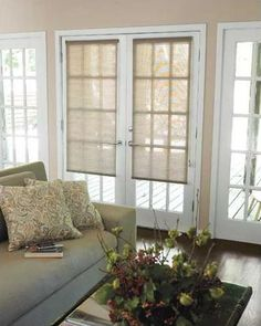 Roller Shades - porch option for light filtering