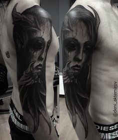 Deni Aktemirov @deni_aktemirov BLACKOUT tattoo collective @blackouttattoocollective #blackouttattoocollective