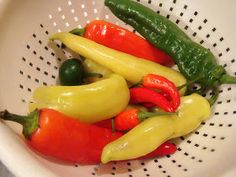 Krista's Kitchen: Home Canning Pickled Peppers AND Pickles