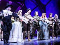 The cast of SOMETHING ROTTEN!